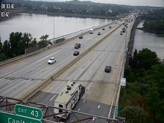 Harrisburg, PA. I-83 I-83 SB at MM 31 Live Cam